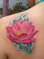 LOTUS TATTOO by amduhan