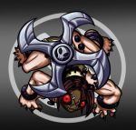 Skullgirls Painwheel Chibi by Mel-the-shadow-lover