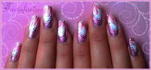 pink and foils by Tartofraises