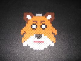 What Does The Fox Say Perler Ornament by Flood7585