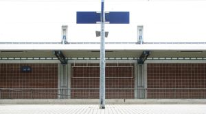 Symmetrical station panorama by psyviant