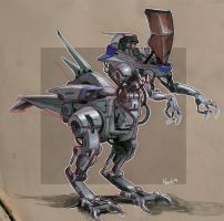 Dino Mecha by heckthor