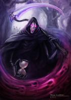 The Grim Reaper by Gurbatchoff