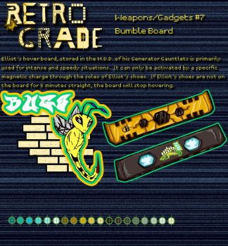 Retrograde Weapon/Gadgets: # 7 by shadefalcon