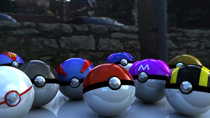 Various Pokeballs by theeph-7810