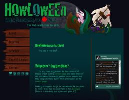 Howloween 2012 Website by Temrin