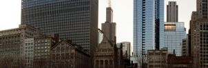 Chicago Skyline Panorama by NeoEonUmbraShadow