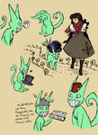 Edaniel Game Sketches and Hat Story by sadwonderland