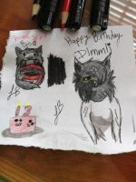 Happy birthday Dlmmlj!!! by XxAwkwardTurtlexX