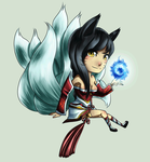 Animated Ahri-LoL by MysticSteph