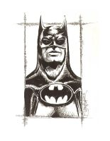 Batman Returns Batman by artistjerrybennett