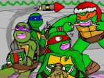A Turtle Christmas by SakuraNights