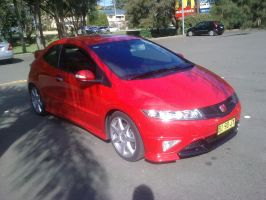 Honda Civic Type-R by TricoloreOne77