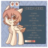 GeckoGeek Reference Sheet by GeckoGeek