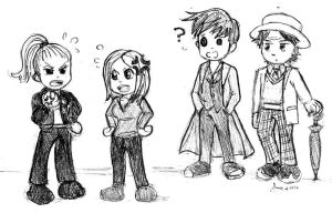Art Trade: Doctor Who by A-A-Fresca