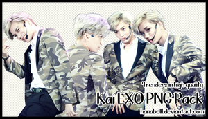 Kai EXO PNG Pack by hanabell1 by HanaBell1