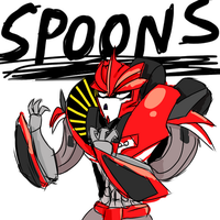 Spoon Princess Knockout by Middiekittie