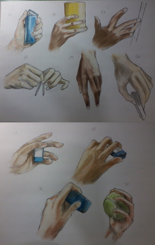 The 50 foot, 50 hand challenge: 30/50 hand by kaichi1342