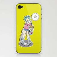 Ramona Flowers iphone skin by magic-cake