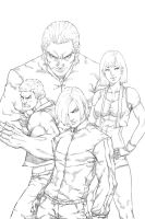 Final Fist - Cover (Black and White) by Mick-cortes
