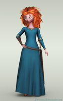 Merida (Brave) by Sterrennacht