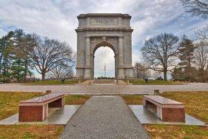 Valley Forge National Memorial Arch by somadjinn