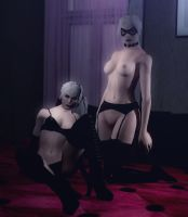 Evil Ash's Nude BlackCat With Bodygroups For GMod by Rastifan