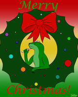 Merry Christmas from Teo by The-Emerald-Otter
