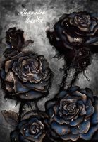 Dying Roses by AlexandraVeda