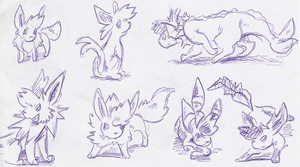 Eeveelutions are cool by Yamashita-akaDoragon