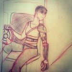 Furiosa sketch by disneyangel89