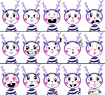 Mime Expressions by Sarahinc