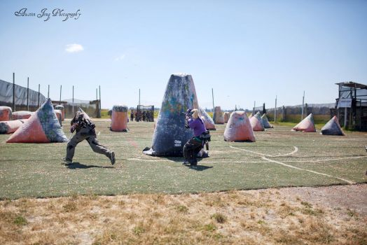 Getting back into shooting paintball - speedball by Shroker