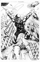 Daredevil Antman by mikitot