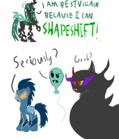 Shapeshifting (minor S3 spoilers) by Dalekolt