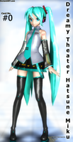 DT Hatsune Miku (Dreamy Theater Card) No. #0 by switchdraw