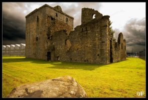 Rosyth Castle by SnapperRod