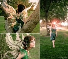 Weeping Willow Tree Fairy by Lillyxandra