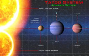 Galactic navigational extra - Tatoo system by unusualsuspex