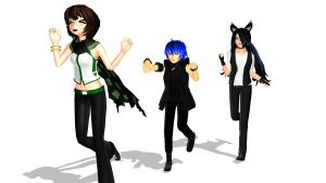 MMD I'm such a terrible person. X3 by CrimsonKingie