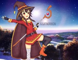 Megumin - Konosuba by nightmarekin
