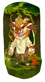 out of the woods - $30 usd - SOLD by kingstooth