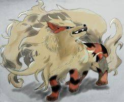 Arcanine by KovenantKonceptions