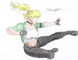 Sonya Blade MK Armageddon by theindianguy