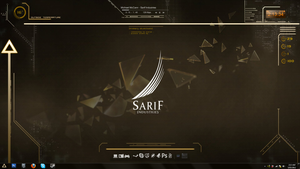 Sarif Industries Desktop by Dreganius