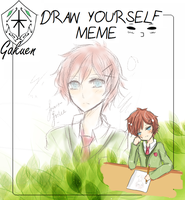 KG: THAT ONE DRAW YOURSELF MEME EEEK by HyIia