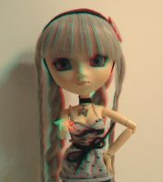 Pullip 3D - Anaglyph by anikkavlc