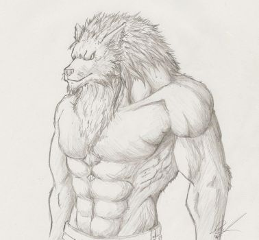 Lycanthrope by WolfThings