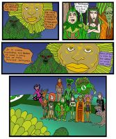 DC Comics Green Thumbs by Lordwormm