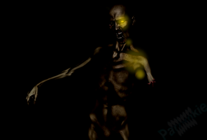 Zombie in The Darkness by parnmkie